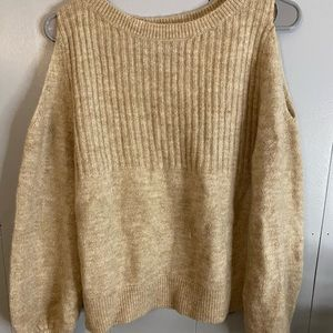 Tan Abercrombie Sweater
